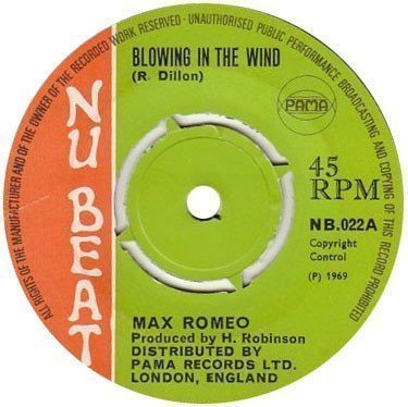 Max Romeo - Blowing In The Wind / Money Girl