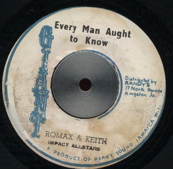 Max Romeo - Every Man Aught To Know