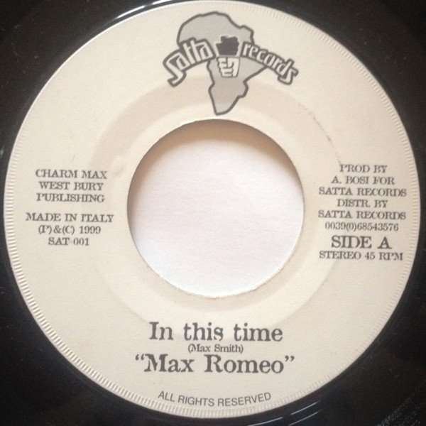 Max Romeo - In This Time
