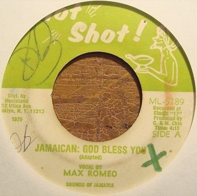 Max Romeo - Jamaican: God Bless You