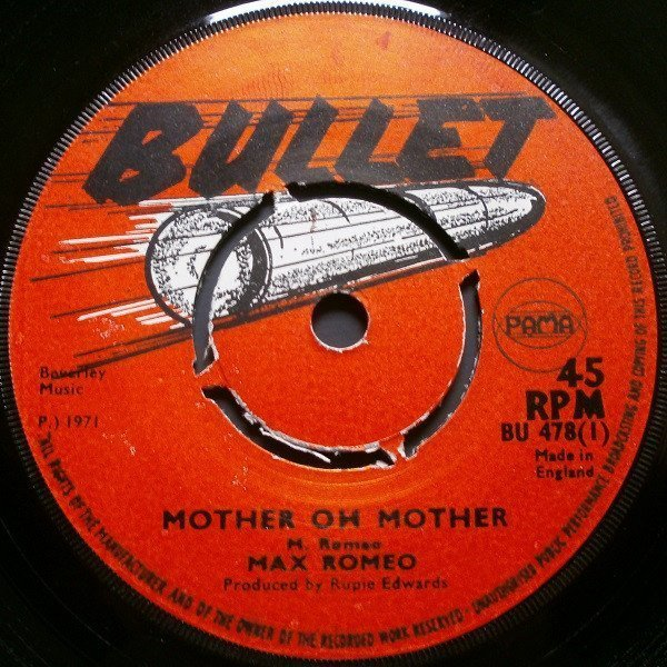 Max Romeo - Mother Oh Mother / Dreams Of Passion