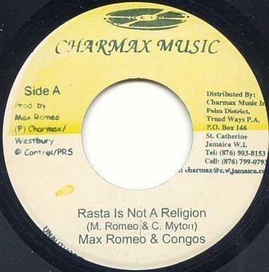 Max Romeo - Rasta Is Not A Religion / Brutal System