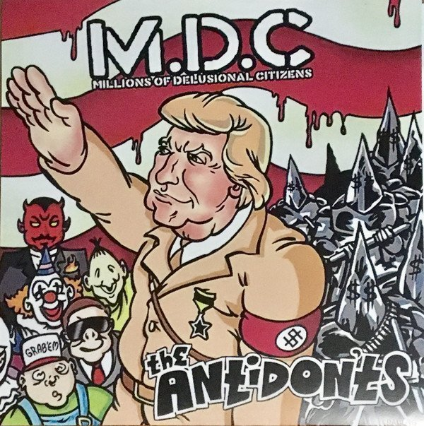 Mdc - M.D.C Millions Of Delusional Citizens / The Antidon