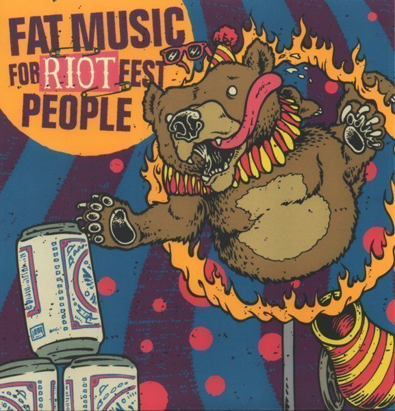 Me First  The Gimme Gimmes - Fat Music For Riot Fest People