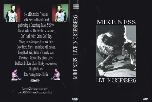 Mike Ness - Live In Greenberg