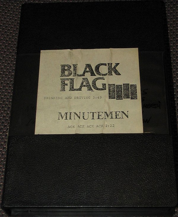 Minutemen - Drinking And Driving / Ack Ack Ack Ack