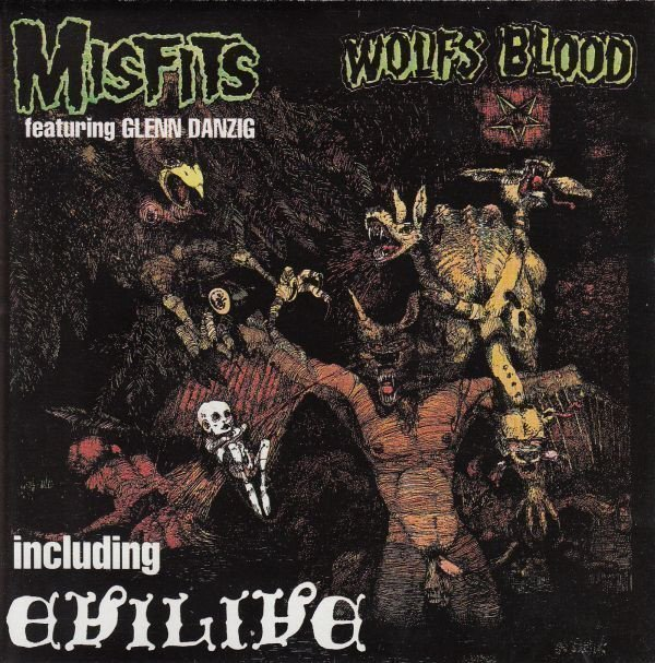 Misfits - Earth A.D. / Wolfsblood + Evil-Live