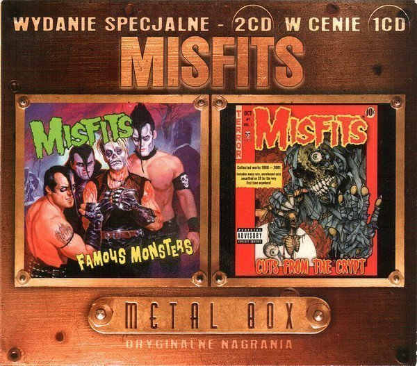 Misfits - Famous Monsters / Cuts From The Crypt