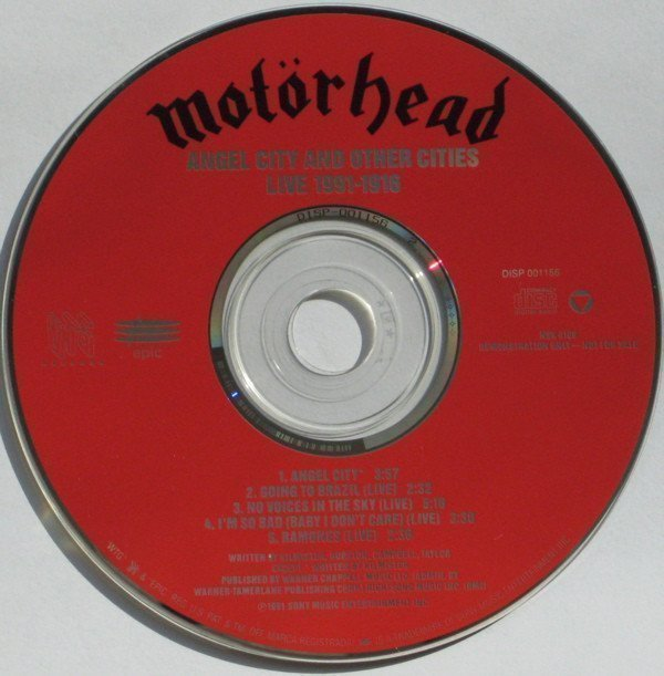 Motorhead - Angel City And Other Cities Live 1991-1916