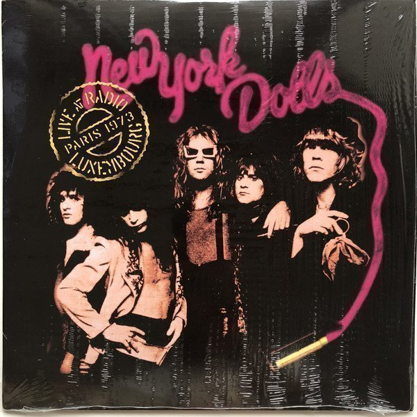 New York Dolls - Live At Radio Luxembourg (Paris 1973)