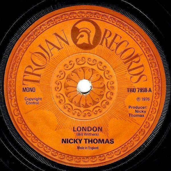 Nicky Thomas - London / What Love Is