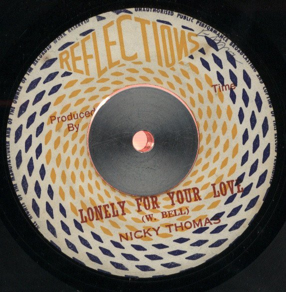 Nicky Thomas - Lonely For Your Love / Baby Can I Change My Mind
