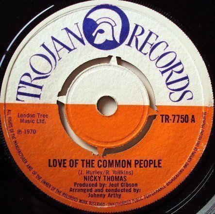 Nicky Thomas - Love Of The Common People / Compass