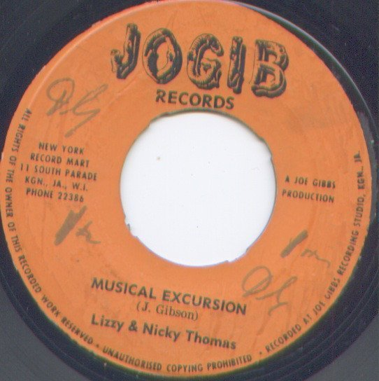 Nicky Thomas - Musical Excursion / Take A Message To My Girl