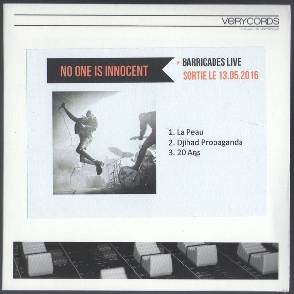 No One Is Innocent - Barricades Live