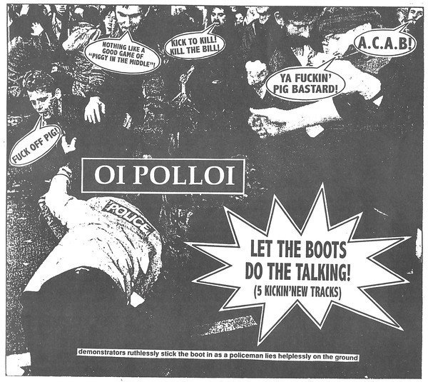 Oi Polloi - Let The Boots Do The Talking!