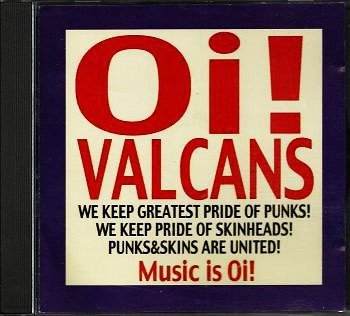 Oi Valcans - Music Is Oi!