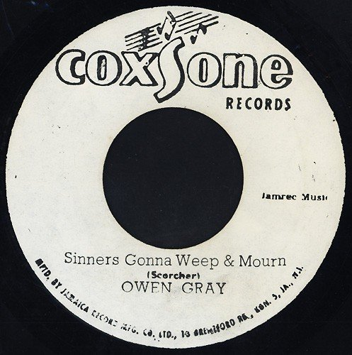 Owen Gray Vs Derek Morgan - Sinners Gonna Weep & Mourn / From Russia With Love