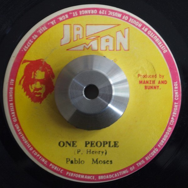 Pablo Moses - One People