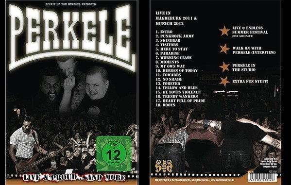 Perkele - Live & Proud ..And More