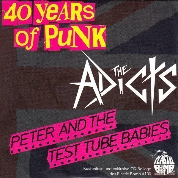 Peter And The Test Tube Babies  that Shallot - 40 Years Of Punk