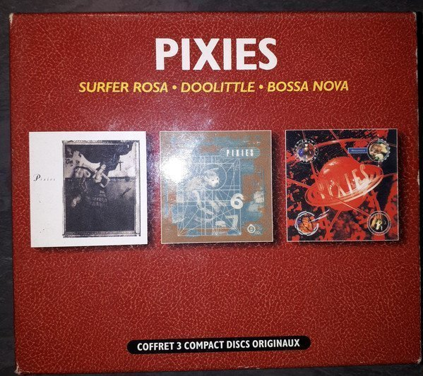 Pixies - Surfer Rosa + Doolittle + Bossanova Box Set