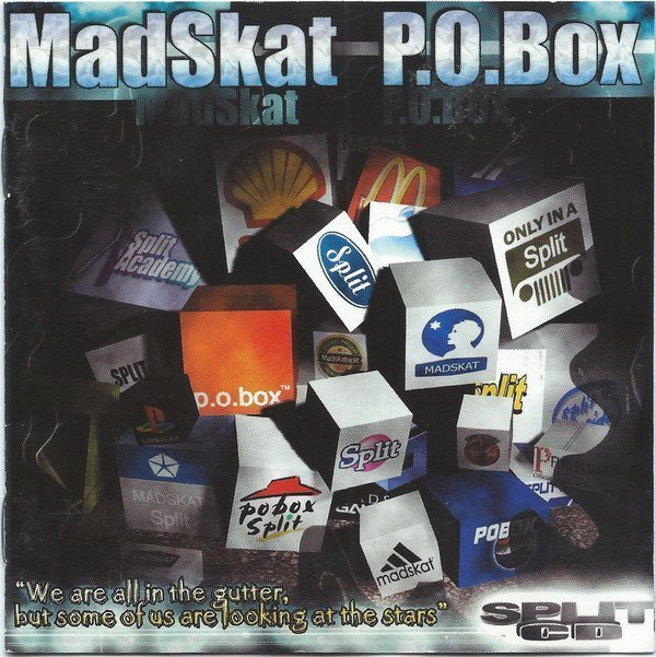 """Pobox - """"We Are All In The Gutter, But Some Of Us Are Looking At The Stars"""" Split-CD"""