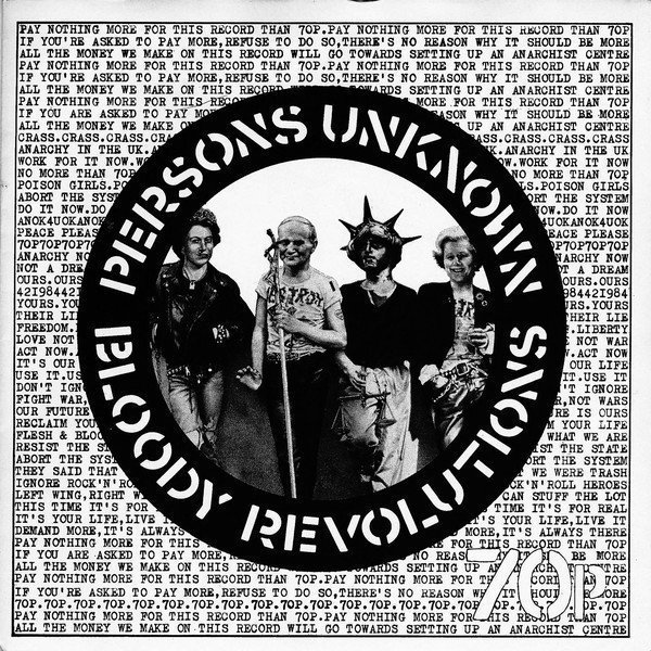 Poison Grils - Bloody Revolutions / Persons Unknown