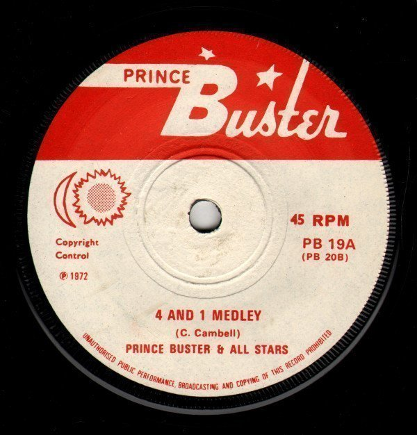 Prince Buster - 4 And 1 Medley