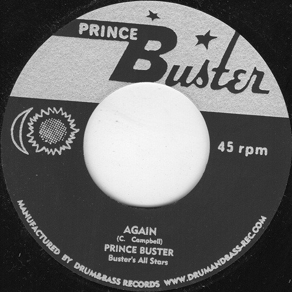 Prince Buster - Again / Walk With Love