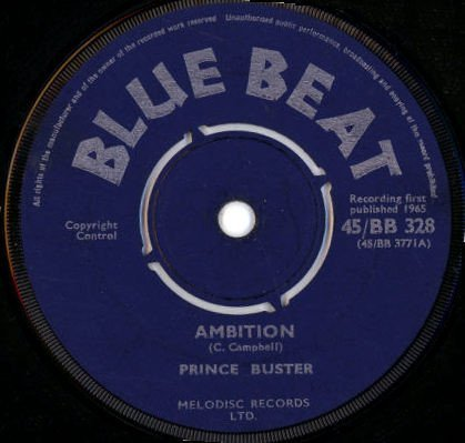 Prince Buster - Ambition / Ryging