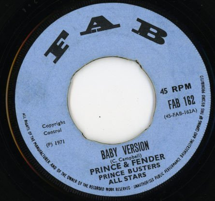Prince Buster - Baby Version / Holly