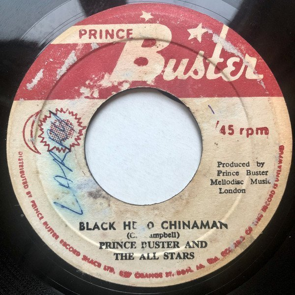 Prince Buster - Black Head Chinaman / Spider And The Fly