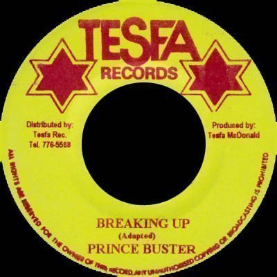 Prince Buster - Breaking Up