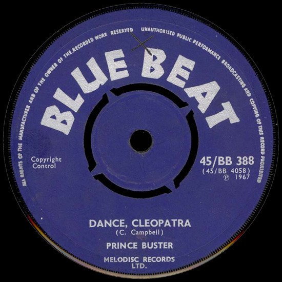 Prince Buster - Dance, Cleopatra / All In My Mind
