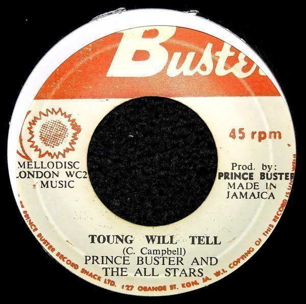Prince Buster - Enjoy Yourself, Toung Will Tell