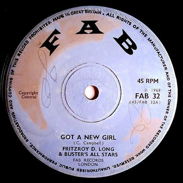 Prince Buster - Got A New Girl / Come And Do It With Me