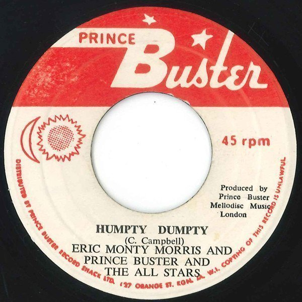 Prince Buster - Humpty Dumpty / Pick Up Your Troubles