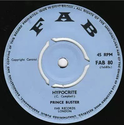 Prince Buster - Hypocrite / New Dance