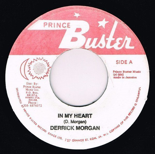 Prince Buster - In My Heart / Kingston 13