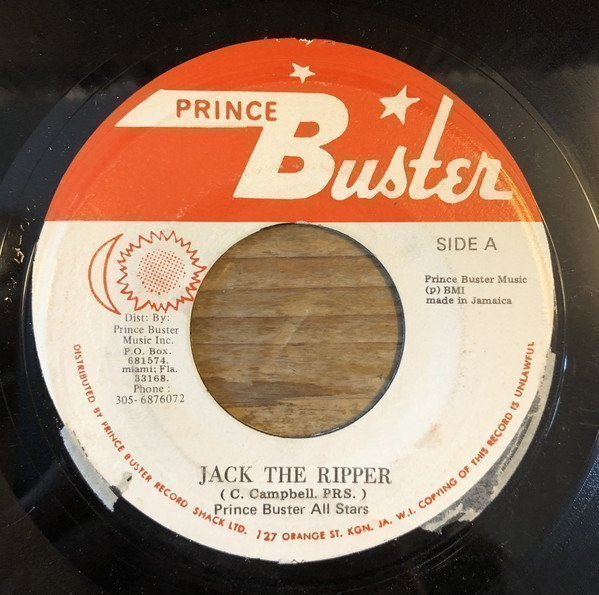 Prince Buster - Jack The Ripper / Why Don