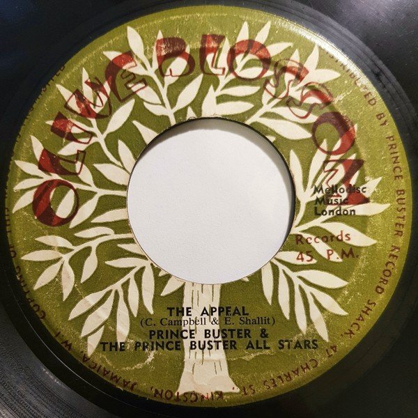 Prince Buster - Judge Dread / The Appeal