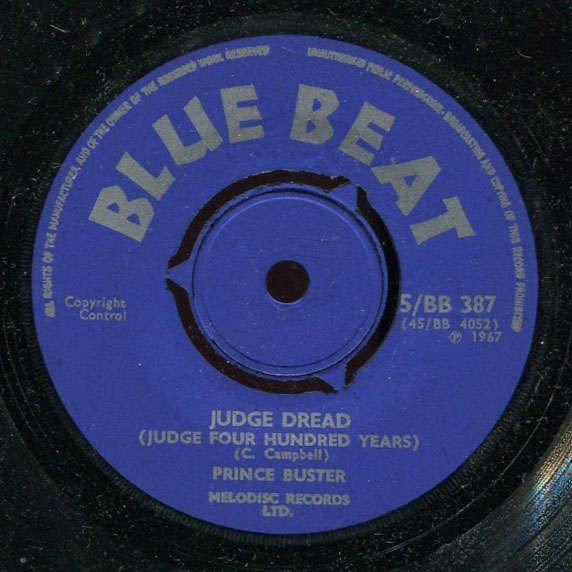 Prince Buster - Judge Dread / Waiting For My Rude Girl