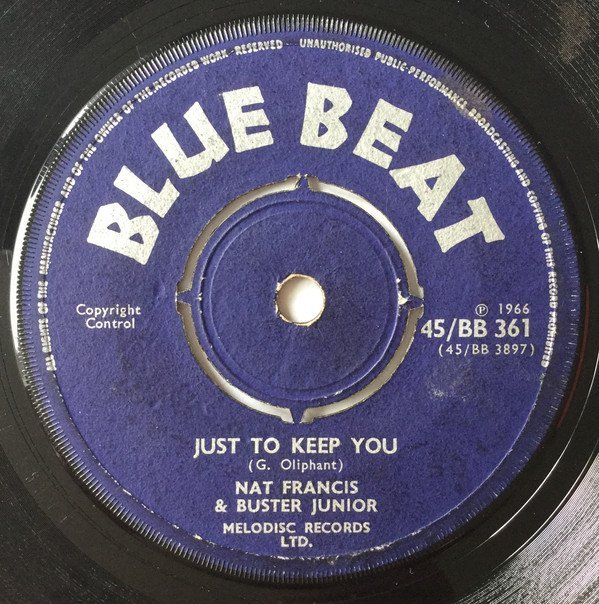 Prince Buster - Just To Keep You / You Only Want My Money