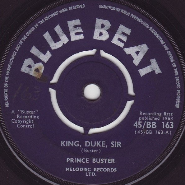 Prince Buster - King, Duke, Sir / I See Them In My Sight