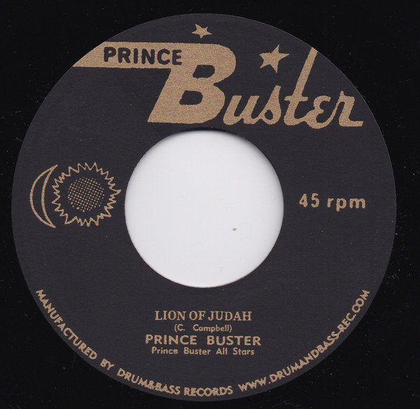Prince Buster - Lion Of Judah / Bore Nose Coolie