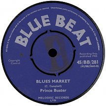 Prince Buster - Looking Down The Street / Blues Market
