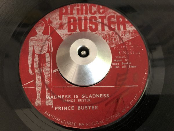 Prince Buster - Madness Is Gladness / Toothache