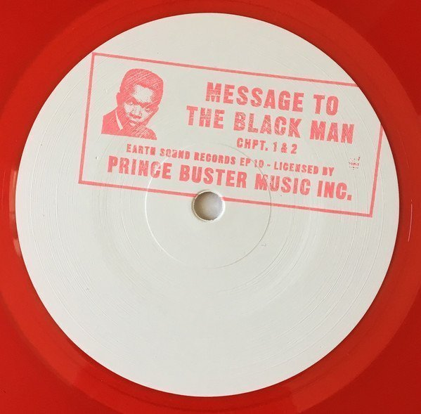 Prince Buster - Message To The Black Man Chpt. 1 & 2