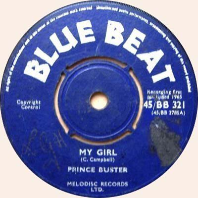 Prince Buster - My Girl / The Fugitive